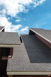 Residential shingles roofing