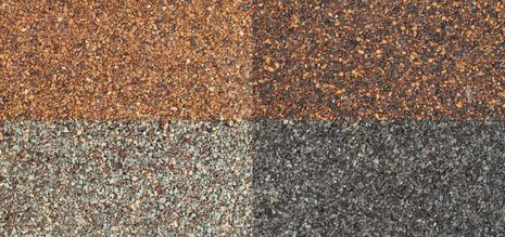 Different shingle color
